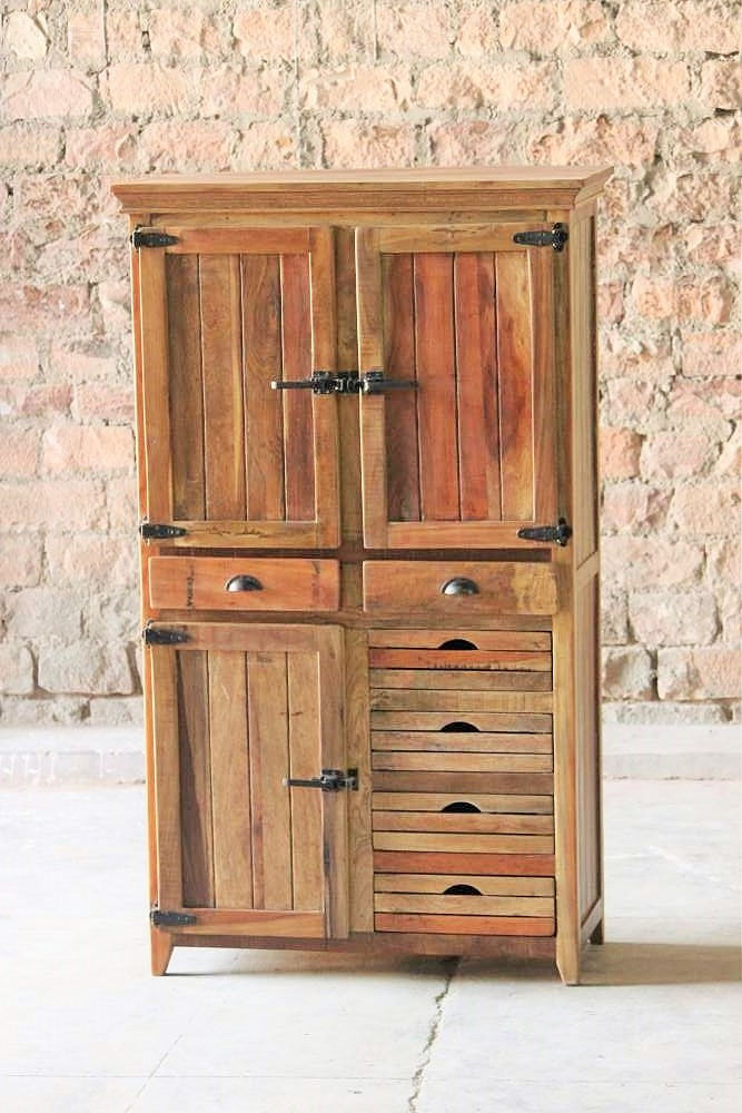 Avalon Upcycled 3 Door 2 Drawer Cabinet Little Tree Furniture